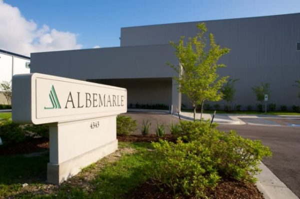 Albemarle Corp. Is A Covidiscount Chemical Stock
